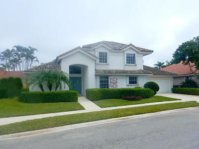 Palm Beach Gardens Single Family Home For Sale: 205 Eagleton Lake Boulevard