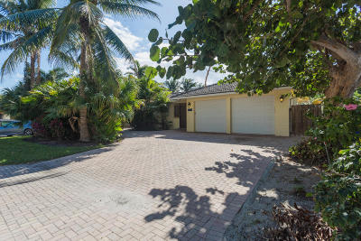 Pompano Beach Single Family Home For Sale: 2403 Bay Drive
