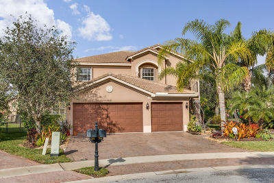 Boynton Beach Single Family Home For Sale: 7859 Emerald Winds Circle