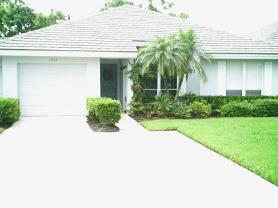 Palm City Single Family Home For Sale: 2942 SW Westlake Circle