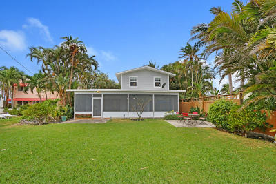 Lake Worth Single Family Home For Sale: 314 Lakeside Drive