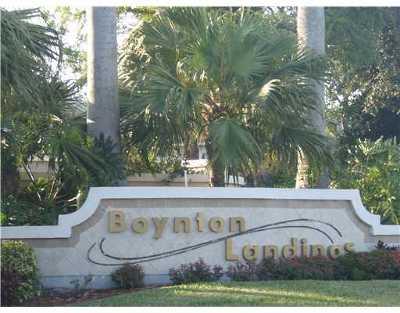 Boynton Beach Rental For Rent: 2305 Congress #13