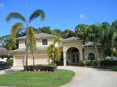 Boynton Beach Single Family Home For Sale: 11640 Dunes Road