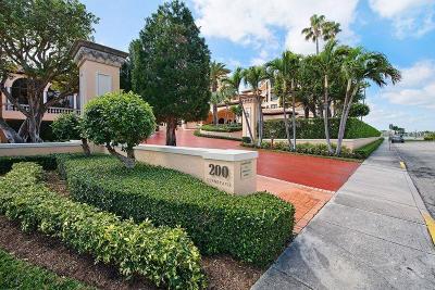 Palm Beach Condo For Sale: 200 Bradley Place #201