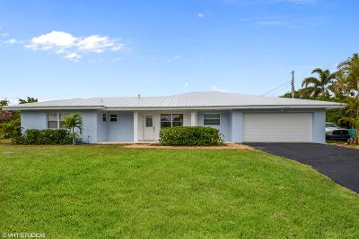 Tequesta Single Family Home For Sale: 19415 W Indies Lane