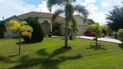 Port Saint Lucie Single Family Home Contingent: 3631 SW Kasin