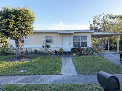 Delray Beach Single Family Home For Sale: 1328 Lee Street