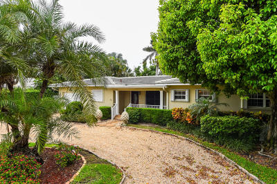 Palm Beach County Single Family Home For Sale: 919 Seagate Drive