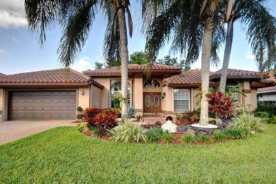 Boca Raton Single Family Home Contingent: 10440 Canoe Brook Circle