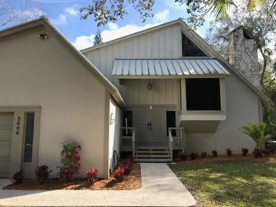Fort Pierce Single Family Home For Sale: 3606 W Wilderness W Drive
