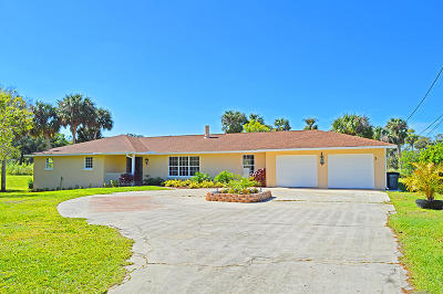 Fort Pierce Single Family Home For Sale: 3126 Old Edwards Road