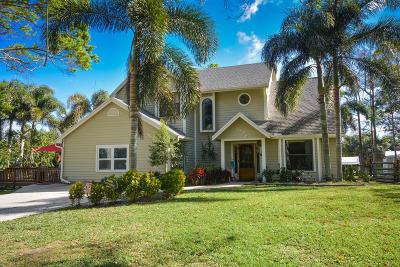 Jupiter Single Family Home For Sale: 9076 150th Court