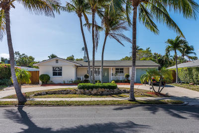 West Palm Beach Single Family Home For Sale: 236 Costello Road