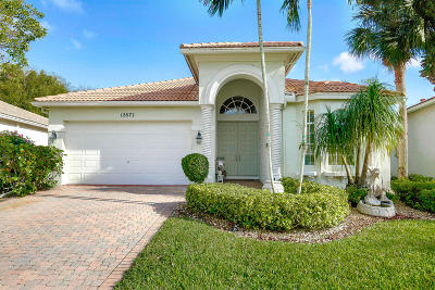 Boynton Beach Single Family Home For Sale: 12672 Via Ravenna