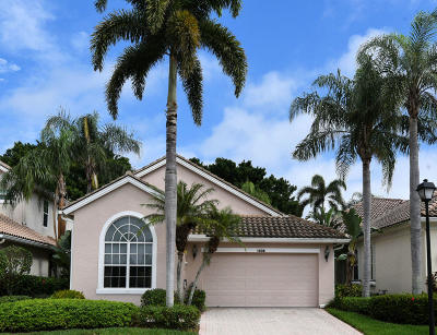 Palm Beach Gardens Single Family Home For Sale: 1038 Diamond Head Way
