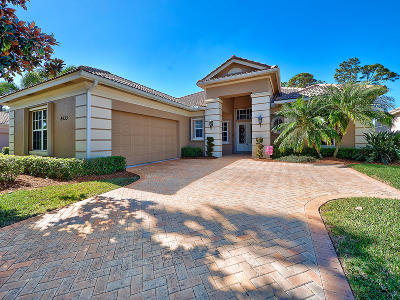 Port Saint Lucie Single Family Home For Sale: 8633 Tompson Point Road