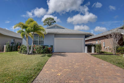 Jupiter FL Single Family Home Sold: $361,000