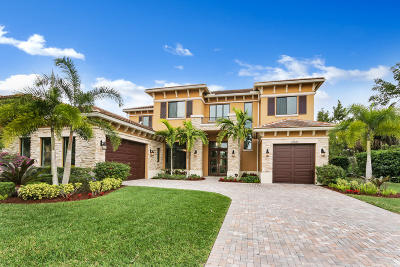 Boca Raton Single Family Home For Sale: 17530 Middlebrook Way