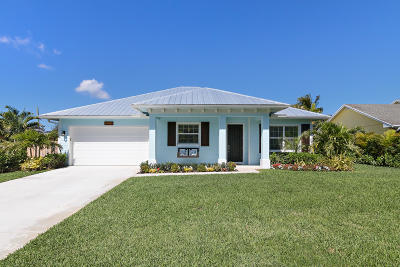 Hobe Sound Single Family Home Contingent: 9273 Saturn Street