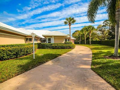 Palm City Single Family Home For Sale: 2632 SW Longwood Drive