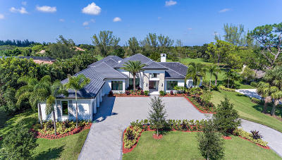 Palm Beach Gardens FL Single Family Home For Sale: $3,995,000