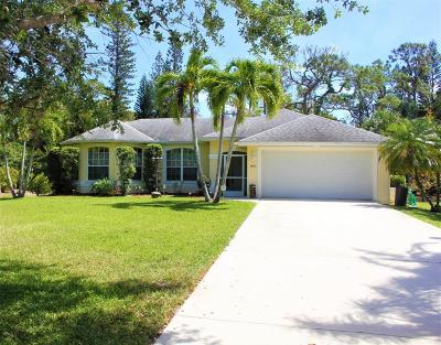 Stuart Single Family Home For Sale: 1480 NW Britt Road