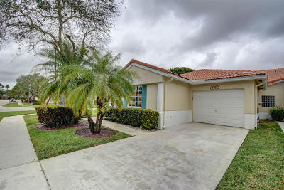 Delray Beach Single Family Home For Sale: 6191 Floral Lakes Drive