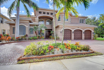 Boynton Beach Single Family Home For Sale: 8728 Thornbrook Terrace Point