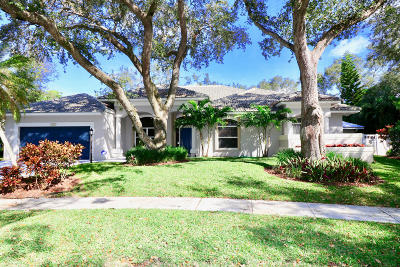 Palm Beach Gardens Single Family Home For Sale: 13048 Coastal Circle