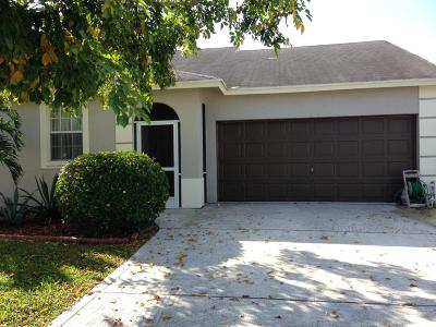 west palm Single Family Home For Sale: 1018 Cape Cod Terrace