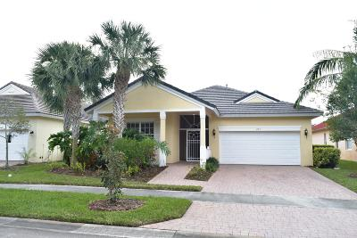 Port Saint Lucie Single Family Home Contingent: 203 NW Willow Grove Avenue