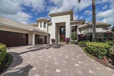 Palm Beach Gardens Single Family Home For Sale: 307 Grand Key Terrace