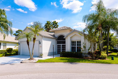 Port Saint Lucie Single Family Home For Sale: 7138 Hawks View Trail
