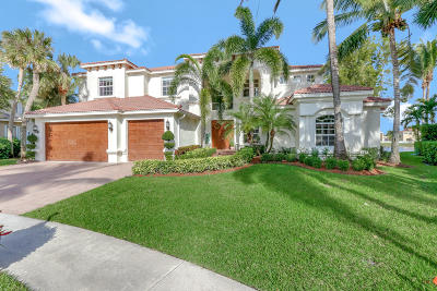 Lake Worth Single Family Home For Sale: 9879 Via Bernini