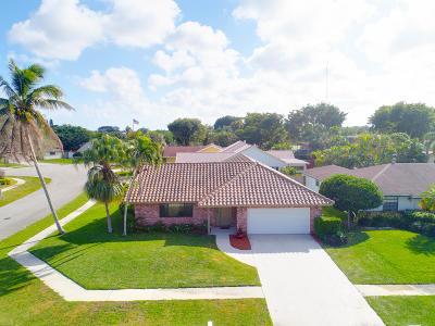 Boca Raton Single Family Home Contingent: 6728 Hollandaire Drive W