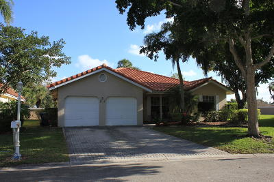 Coral Springs Single Family Home Contingent: 1609 NW 106 Lane
