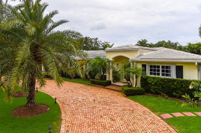Palm Beach County Single Family Home For Sale: 911 Seagate Drive