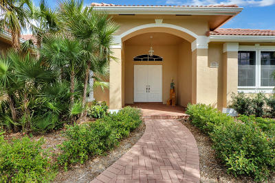 Tequesta Single Family Home Contingent: 572 Cypress Drive