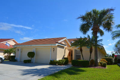 Palm City Single Family Home Contingent: 3905 SW Inwood Pines Lane