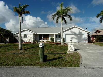 Port Saint Lucie Single Family Home Contingent: 1586 SE Cownie Street