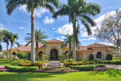 Palm Beach Gardens Single Family Home For Sale: 12210 Tillinghast Circle