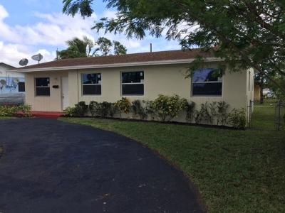 Fort Lauderdale Single Family Home For Sale: 2100 NW 31st Avenue