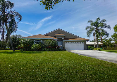 Palm Beach Gardens Single Family Home For Sale: 16109 72nd Drive