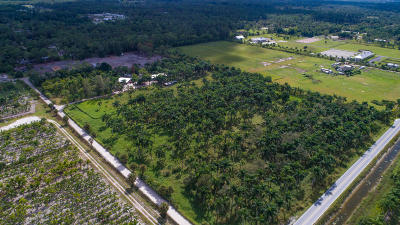 Palm Beach County Residential Lots & Land For Sale: Xxx B Road