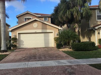 Boynton Beach Single Family Home For Sale: 7895 Jewelwood Drive