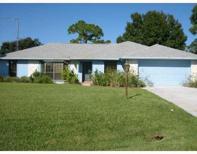 Fort Pierce Single Family Home For Sale: 4104 Stone Ridge Court