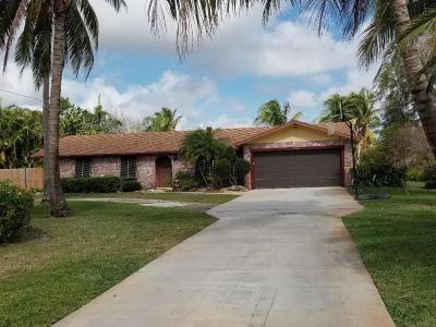 Lake Worth Single Family Home For Sale: 2889 Somerset Road