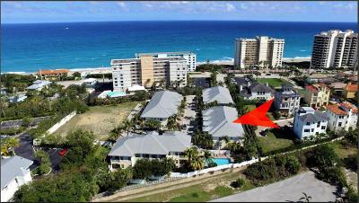 Juno Beach Townhouse For Sale: 465 Ocean Ridge Way