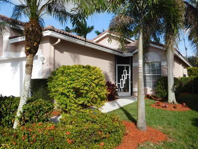 Boynton Beach Single Family Home For Sale: 9562 Cherry Blossom Court