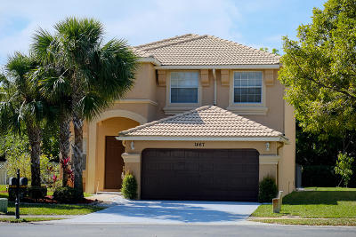 Royal Palm Beach Single Family Home For Sale: 1467 Running Oak Court